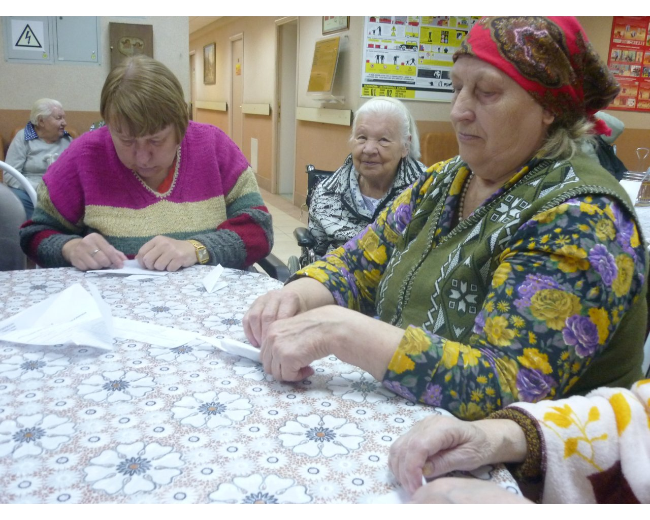 Оригами с инвалидами